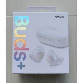 サムスン(SAMSUNG)の新品未開封 送料無料 GALAXY Buds+ ホワイト正規品(ヘッドフォン/イヤフォン)