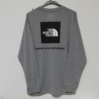 THE NORTH FACE - THE NORTH FACE バックスクエアロゴ長袖Tシャツ