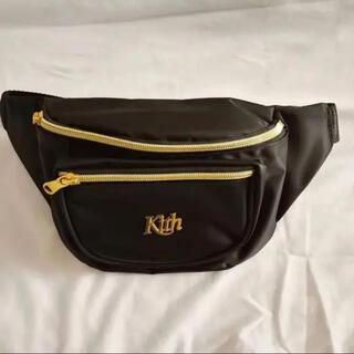 Supreme - 新品 キス KITH NYC ボディバック ブラック ウエストポーチ