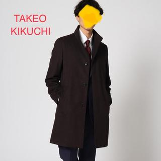 タケオキクチ(TAKEO KIKUCHI)のタケオ キクチ ライナー付きコート Lサイズ 黒(ステンカラーコート)