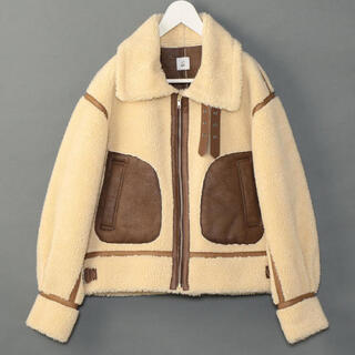 BEAUTY&YOUTH UNITED ARROWS - <6(ROKU)>FAKE MOUTON B3/ブルゾン