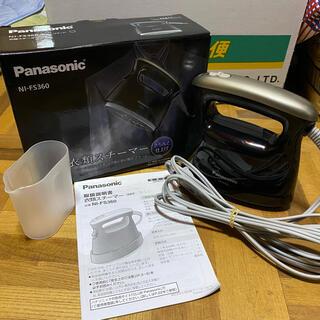 パナソニック(Panasonic)のPanasonic 衣類スチーマー NI-FS360 スタンドあり(アイロン)
