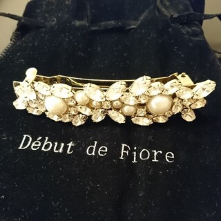デビュードフィオレ(Debut de Fiore)のDebut de Fiore ヘアアクセサリー(バレッタ/ヘアクリップ)