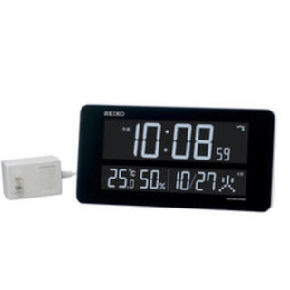 セイコー(SEIKO)の【美品】SEIKO CLOCK 壁掛け時計 デジタル式(掛時計/柱時計)
