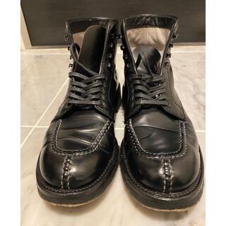 オールデン(Alden)のAlden タンカーブーツ サイズ6 コードバン ブラック (ブーツ)