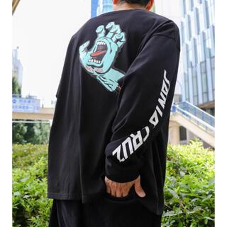 フリークスストア(FREAK'S STORE)のSANTA CRUZ 長袖Tシャツ ロンT ブラック M(Tシャツ/カットソー(七分/長袖))