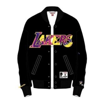 XXL LA Lakers × TMKK × CC SATIN JACKET(ナイロンジャケット)