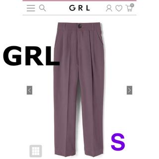 GRL -  GRL ベーシックストレートパンツ