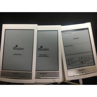 ソニー(SONY)のジャンク Sony PRS-T1 Reader 電子インク 3台 + 専用ケース(電子ブックリーダー)