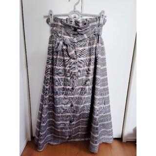 レトロガール(RETRO GIRL)のRETRO GIRLのグレンチェックスカート(ひざ丈スカート)