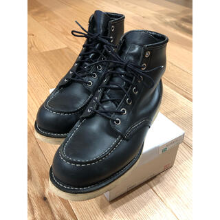 レッドウィング(REDWING)のRED WING レッドウイング ブラック  D8130(ブーツ)