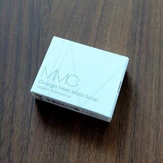 エムアイエムシー(MiMC)の新品 mimc オメガフレッシュモイストソープ ミニサイズ(洗顔料)