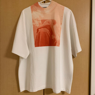 Jil Sander - JIL SANDER ジルサンダー モックネック オーバーサイズ Tシャツ