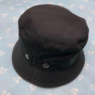 Hermes - HERMES エルメス 帽子 ハット ブラック 56サイズ