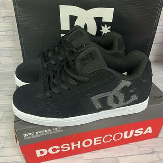 ディーシーシュー(DC SHOE)のDC shoe NET ブラック 26.0cm(スニーカー)