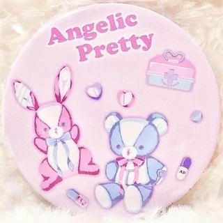 アンジェリックプリティー(Angelic Pretty)の【新品】Fancyホスピタル缶バッジミラー(ピンク)(その他)