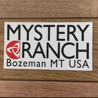 ミステリーランチ(MYSTERY RANCH)のミステリーランチ ステッカー(登山用品)