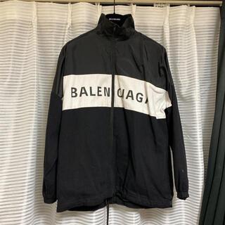 Balenciaga - バレンシアガ デニムナイロンジャケット38 黒