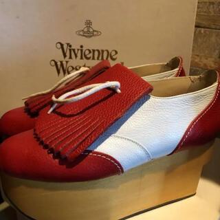 ヴィヴィアンウエストウッド(Vivienne Westwood)のヴィヴィアンウエストウッド ロッキンホースゴルフ(ローファー/革靴)