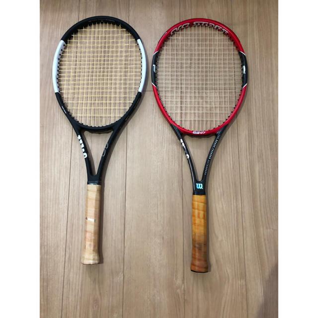 wilson(ウィルソン)のプロスタッフ97RF prostaff 97 rf g3 スポーツ/アウトドアのテニス(ラケット)の商品写真
