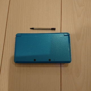 ニンテンドー3DS - 良品☆3ds本体☆青  動作OK♪タッチペン、ゲーム付き!アルコール除菌済み