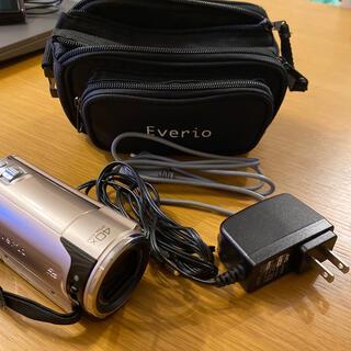 ケンウッド(KENWOOD)の【ハンディビデオカメラ】Everio GZ-HM670-N(ピンクゴールド)(ビデオカメラ)