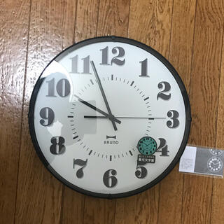 イデアインターナショナル(I.D.E.A international)の新品BRUNO掛け時計☆ブルーノ(掛時計/柱時計)