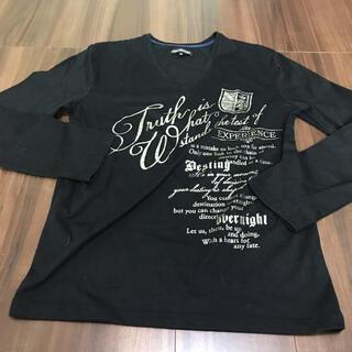 セマンティックデザイン(semantic design)のセマンティックデザイン  ロンT ブラック M(Tシャツ/カットソー(七分/長袖))