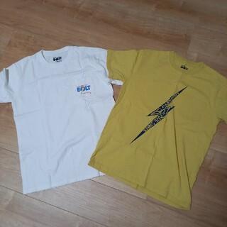 ライトニングボルト(Lightning Bolt)のLlGHTNINGBOLT(ライトニングボルト) Tシャツ 2枚セット 白黄 M(Tシャツ/カットソー(半袖/袖なし))