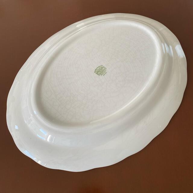 NIKKO(ニッコー)のダブルフェニックス♡レトロな大皿 美品 インテリア/住まい/日用品のキッチン/食器(食器)の商品写真