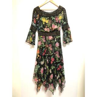 タダシショウジ(TADASHI SHOJI)のTADASHI SHOJI タダシショージ ドレス AVY17055MD(ロングワンピース/マキシワンピース)