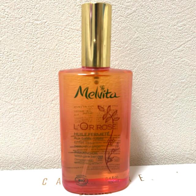Melvita(メルヴィータ)のメルヴィータ ロゼエクストラ ブリリアント ボディオイル 100ml コスメ/美容のボディケア(ボディオイル)の商品写真