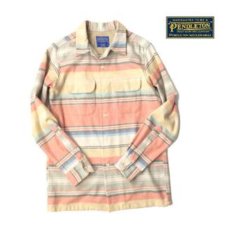 ペンドルトン(PENDLETON)の美品★メキシコ製 PENDLETON ペンドルトン ウール フランネルシャツ(シャツ)