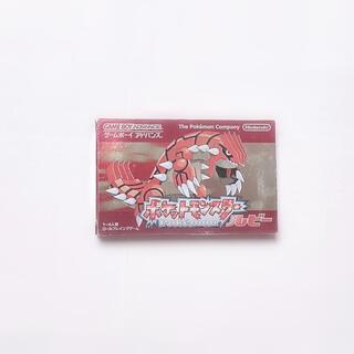 ゲームボーイアドバンス(ゲームボーイアドバンス)のポケットモンスター ルビー GBA(携帯用ゲームソフト)