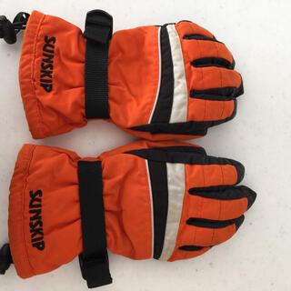 スキー手袋 スノー手袋 140センチ(手袋)