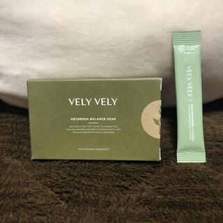 ファンケル(FANCL)のヨモギバランスソープ 緑茶酵素洗顔パウダー vely vely(洗顔料)