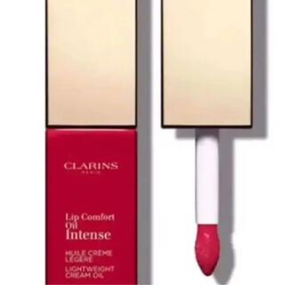 クラランス(CLARINS)のクラランス コンフォートリップオイルインテンス 07インテンスレッド(口紅)