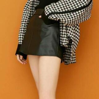 ジェイダ(GYDA)のレザースカート ミニスカート(ミニスカート)