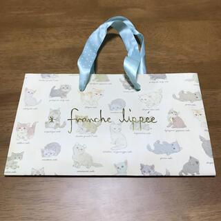 フランシュリッペ(franche lippee)のフランシュリッペ ショッパー 紙袋 ねこ図鑑 ネコ図鑑 猫図鑑(ショップ袋)