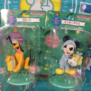 ディズニー(Disney)のミッキー プルート オーナメント くじ ディズニー フィギュア(アニメ/ゲーム)