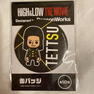ゲキダンエグザイル(劇団EXILE)のHIGH & LOW  テッツ 缶バッジ(男性タレント)