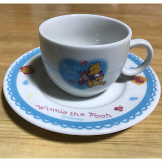 クマノプーサン(くまのプーさん)のくまのプーさん ティーカップ&ソーサー(グラス/カップ)