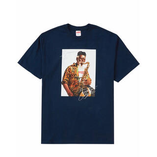 シュプリーム(Supreme)のsupreme pharoah sanders tee navy(Tシャツ/カットソー(半袖/袖なし))