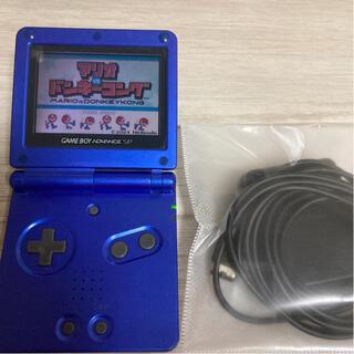 ゲームボーイアドバンス(ゲームボーイアドバンス)のブルーカラー✨ゲームボーイアドバンスSP本体 送料無料❗️(携帯用ゲーム機本体)
