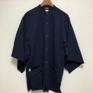 ソウソウ(SOU・SOU)のソウソウ 伊勢木綿 藍染め シャツ メンズ(シャツ)