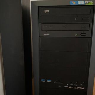 ASUS - ゲーミングPC i7 GALLERIA