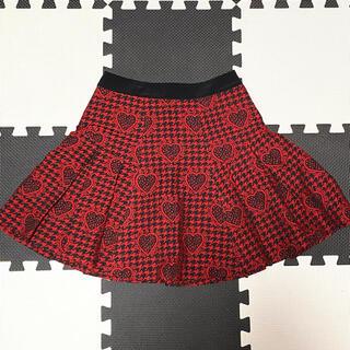 ドーリーガールバイアナスイ(DOLLY GIRL BY ANNA SUI)のDOLLY GIRL by ANNA SUI★ハートジャガードスカート(ミニスカート)