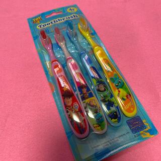 ディズニー(Disney)のトイ・ストーリー*歯ブラシ4本セット(歯ブラシ/歯みがき用品)