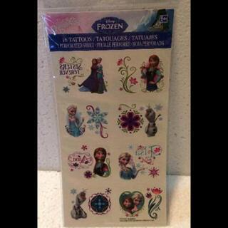 ディズニー(Disney)のアナ雪 タトゥーシール ボディーシール 顔や体に貼れる ハロウィン 仮装(その他)