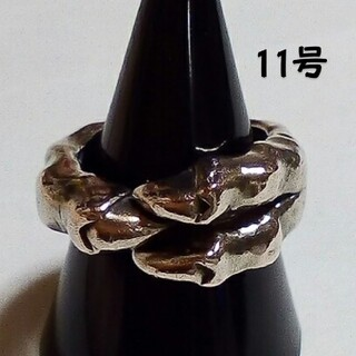 11号 ホーリーグレイヴ 初代 クロウ シルバーリング 希少(リング(指輪))